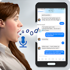 Speech to text converter- voice typing app icon