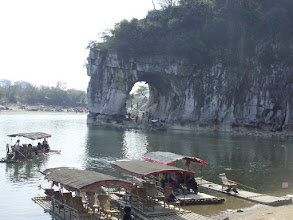 Photo: First Day in China: Elephant Hill in Guilin