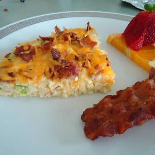 Hash Brown Potato Pie – A great Sunday breakfast!.