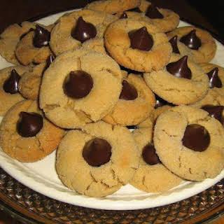 Peanut Butter Hershey's Kiss Cookies.