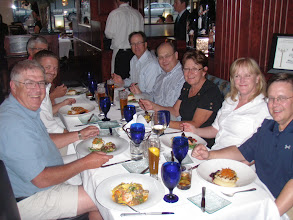 Photo: Dinner with friends from North Dakota, Maryland, and USWA