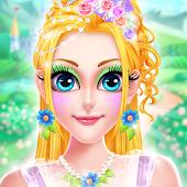 Tải Crazy Flower Girl Makeup and  Dressup Salon APK