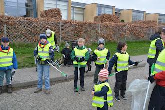 Photo: Parat til affaldsindsamling i Beder