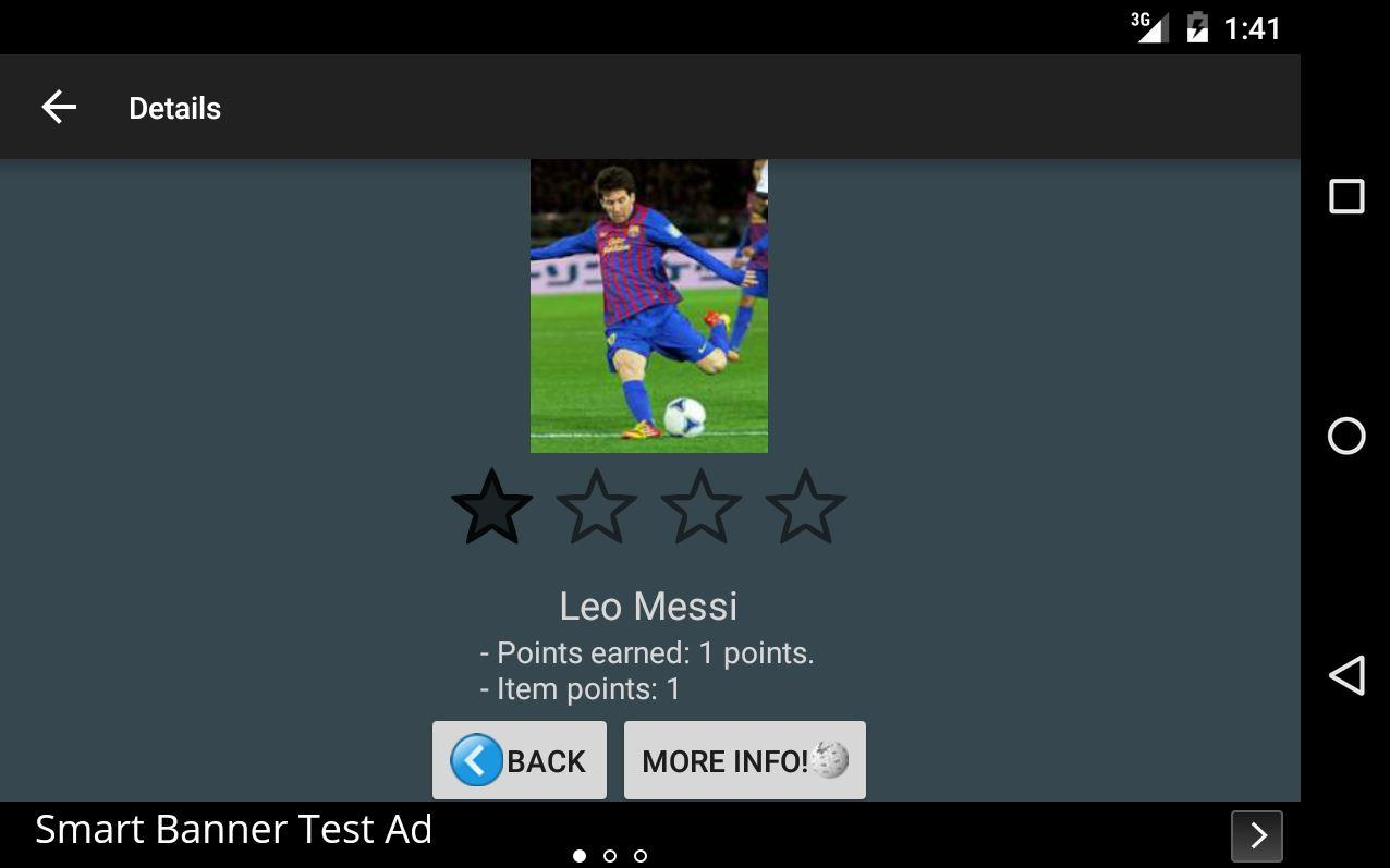 Sports Quiz!- screenshot
