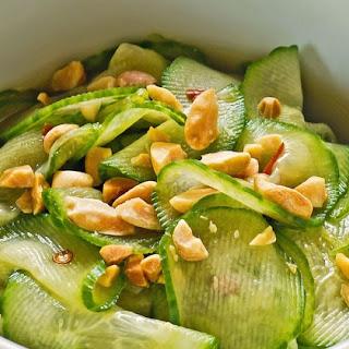 Thai Style Cucumber Salad