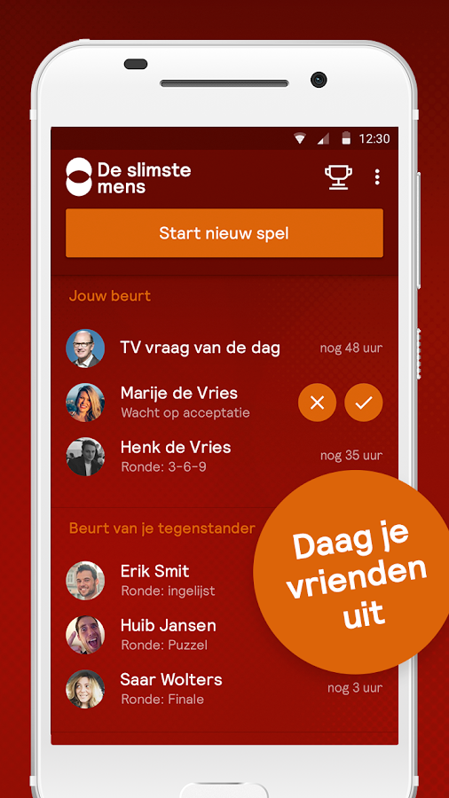 De Slimste Mens: screenshot