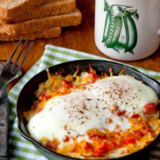 Hash Brown-Omelet Skillets