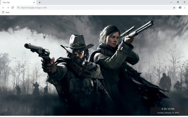 Hunt Showdown New Tab & Wallpapers Collection