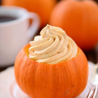 Pumpkin Cheesecake Mousse.