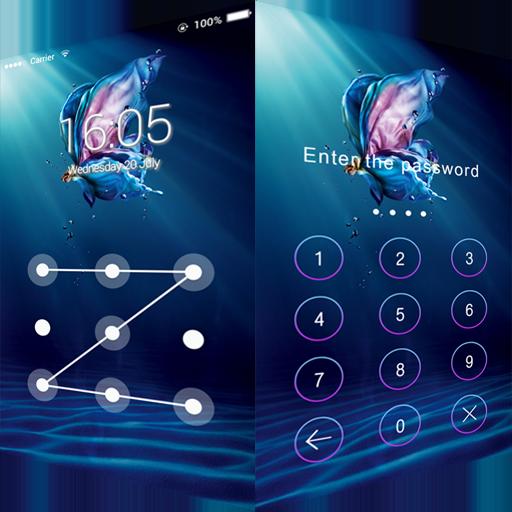 AppLockテーマバタフライ 程式庫與試用程式 App LOGO-APP開箱王