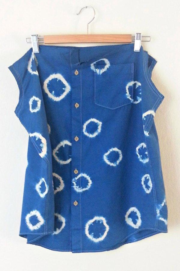 In-Progress: DIY Shibori Dye Skirt - DIY Fashion Garment   fafafoom.com