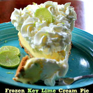 Frozen Key Lime Cream Pie