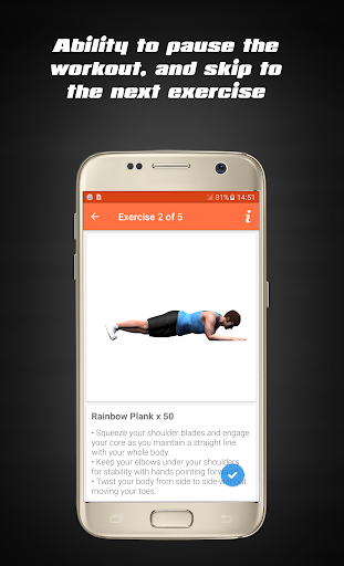 Home Workouts - Fit Challenge 5.0.2 screenshots 3