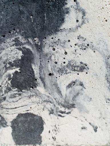 béton coloré effet marbré anthracite