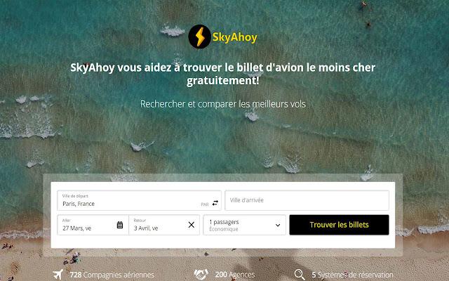 Meilleur Comparateur de Vol - Skyahoy.Com