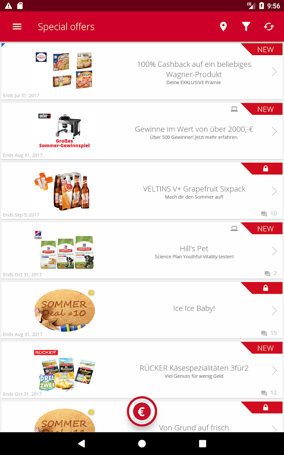 scondoo Cashback Deals Coupons- screenshot