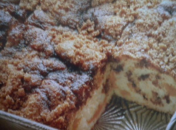 Peachy Cinnamon Coffeecake Recipe