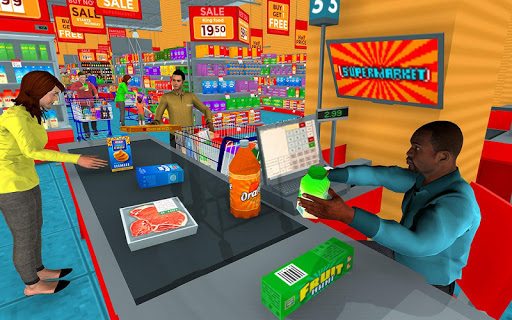 Supermarket Grocery Shopping Mall Family Game 1.5 screenshots 11