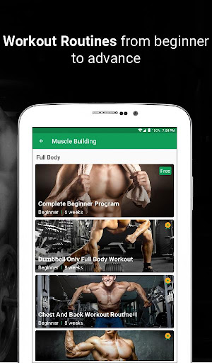 Fitvate - Home & Gym Workout Trainer Fitness Plans 6.8 screenshots 22