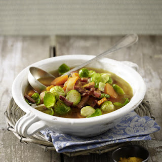 Brussels Sprouts and Pumpkin Stew.