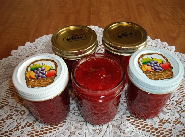 Rhubarb Strawberry Jam Recipe