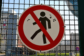 Photo: Berlin - strict whistling laws