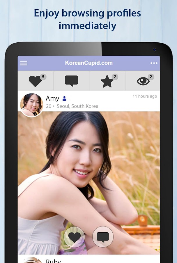KoreanCupid - Korean Dating App- screenshot