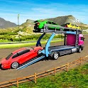 Car Transport Truck Free Games: Car transportation icon