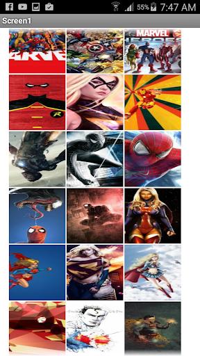 スーパーヒーロー壁紙HD