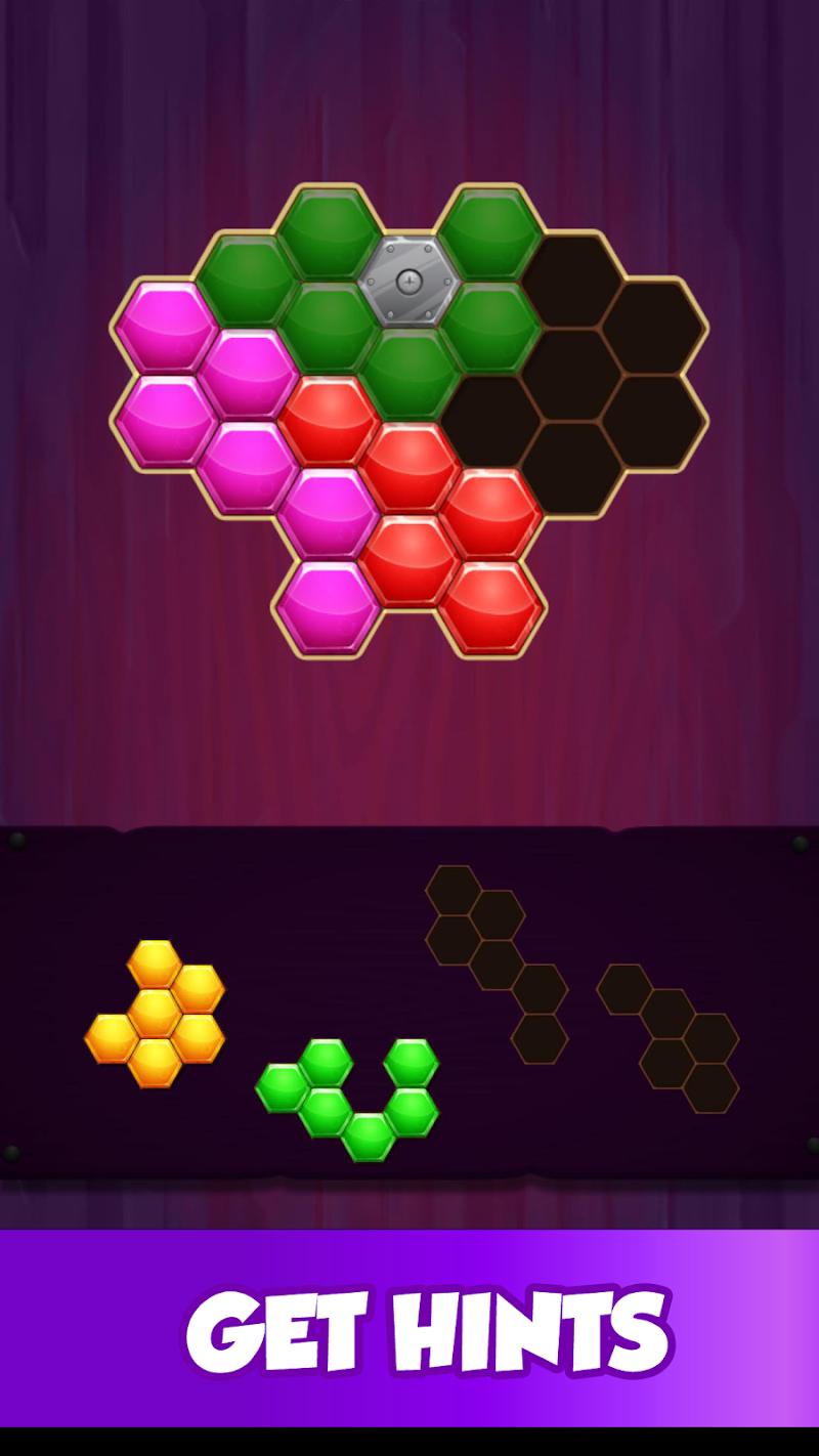 Скриншот Hexagon Puzzle - Block Matching Game