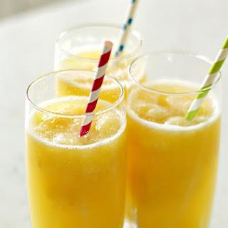 Tropical Banana Slush Drink