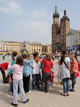 """Photo: 25-26 IV 2013, Kraków i Bochnia, klasa 5a (fot. Wasz """"etatowy"""" kronikarz ;-)) Więcej zdjęć tutaj: https://picasaweb.google.com/103212917909691184805/KrakowIBochnia?authuser=0&authkey=Gv1sRgCLPC-_rN8IaSKw&feat=directlink"""