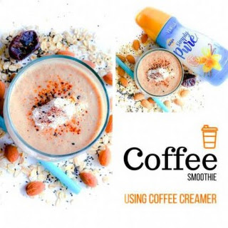 Coffee Smoothie using Coffee Creamer