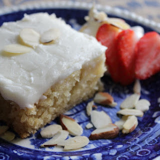 Almond Cake with Almond Icing