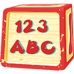 ABCD for Kids Learn Alphabets A to Z Learn 1 to 10 Icon