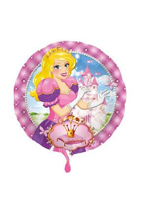 Folieballong, prinsessa