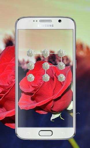 Flower Pattern Lock Screen