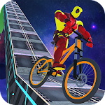 Superhero BMX stunts 2018 Icon
