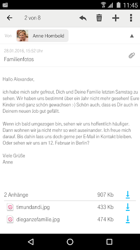 Telekom Mail screenshot 4