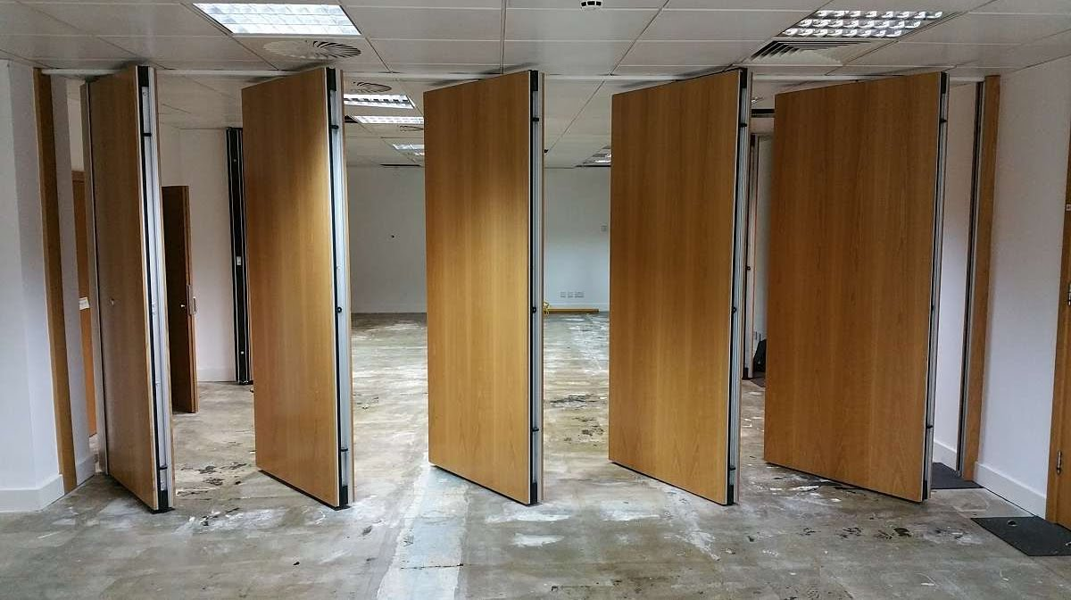 Used movable sliding walls for sale