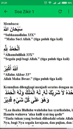 Doa Zikir Harian Lengkap 1.3 screenshots 4