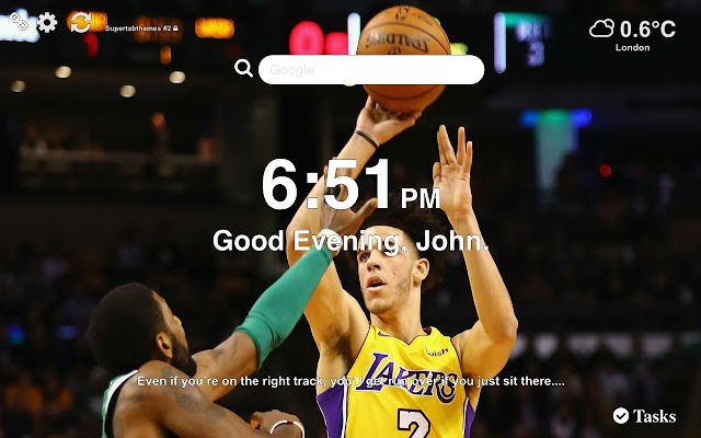 Lonzo Ball Lakers Wallpapers and New Tab