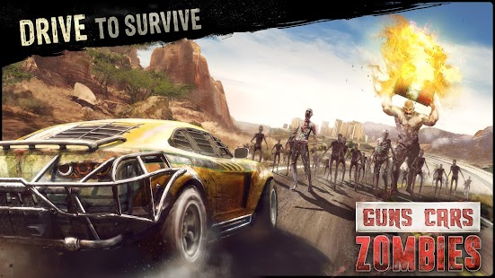 Guns, Cars, Zombies 1.0.4 MOD APK (Unlimited Money) + DATA