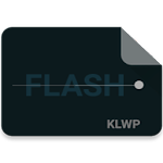 Flash Theme for KLWP
