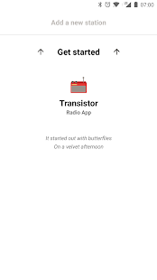 Transistor Radio Screenshot
