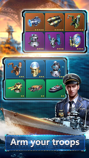 Fleet Command u2013 Kill enemy ship & win Legion War 1.7.0 Screenshots 3