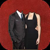 Couple Fashion Photo Suit