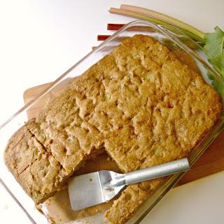 Rhubarb Coffee Cake Sour Cream Recipes