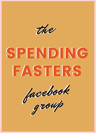 spending fasters facebook group