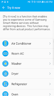 Samsung Smart Home Screenshot 4